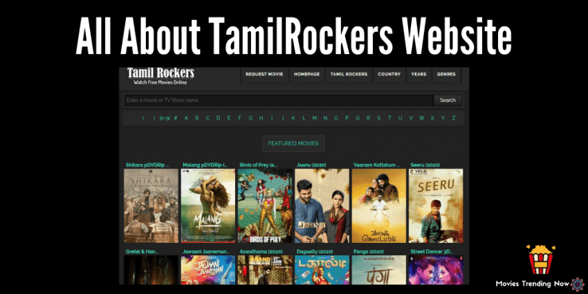 about tamilrockers website